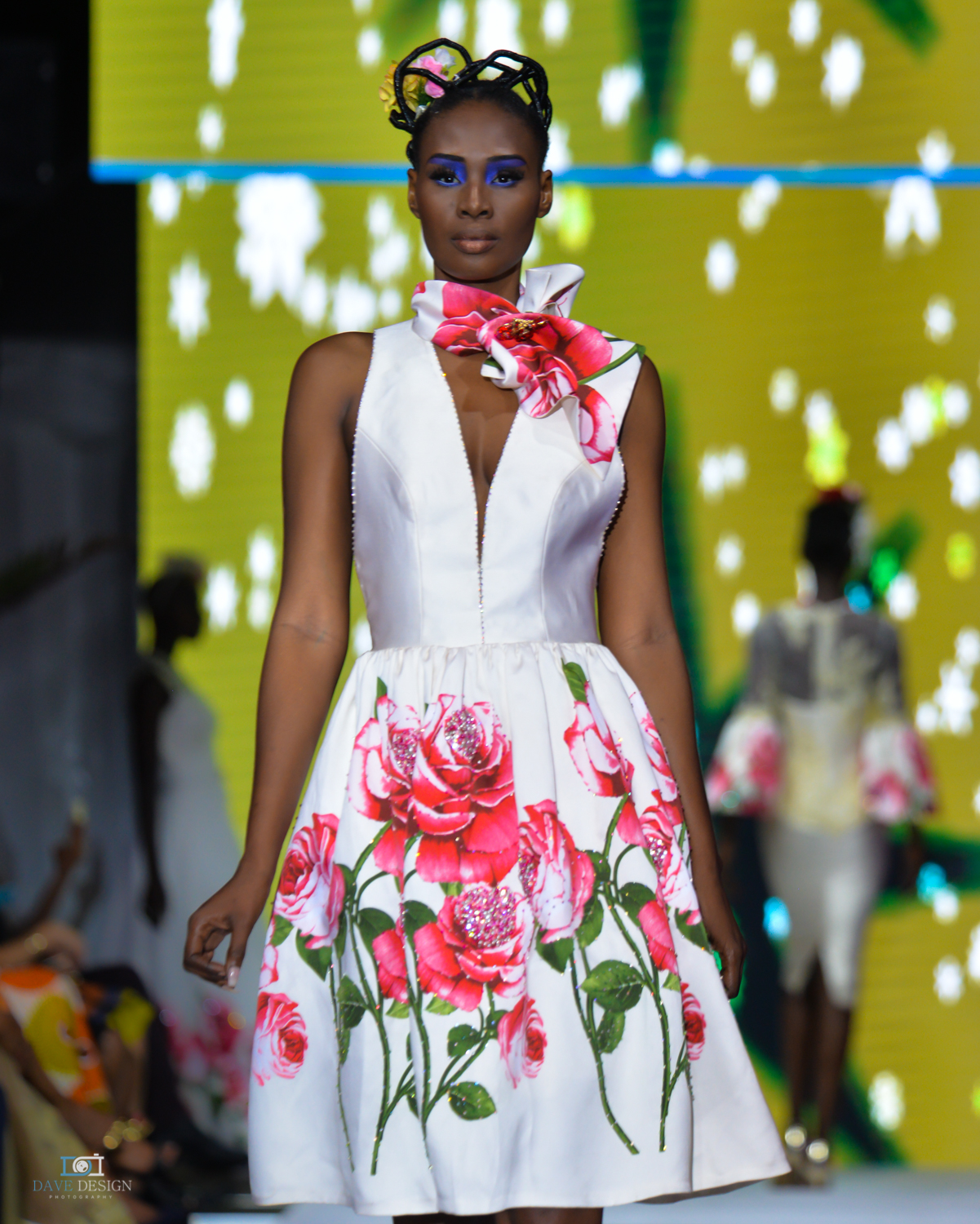 Lahad Guèye à la Dakar Fashion Week 2018