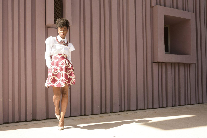 jupe createur wax cotonou ibilola