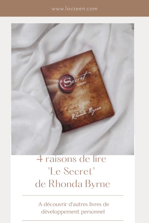 """4 raisons de lire """"Le Secret"""" de Rhonda Byrne"""