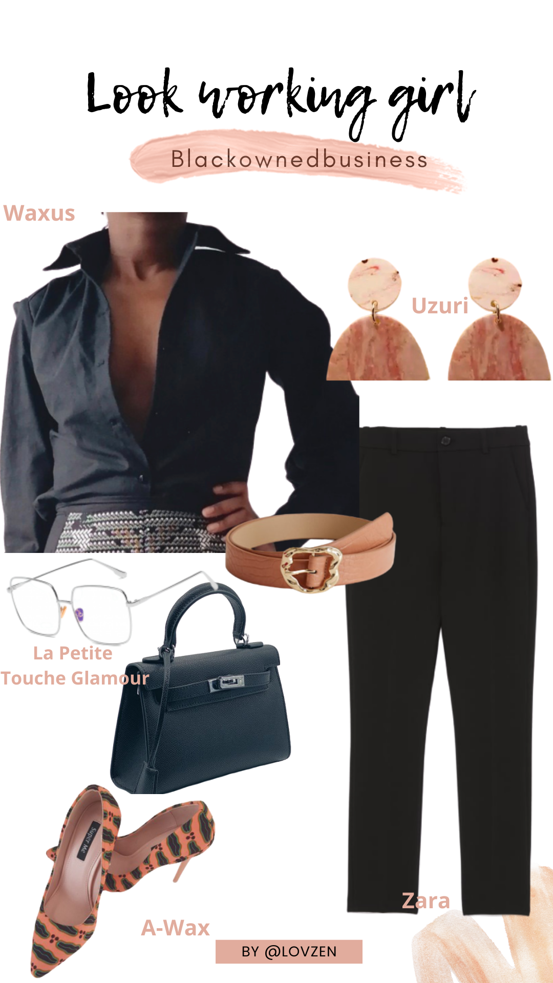 moodboard inspiration look détails style working girl style afro traditionnel
