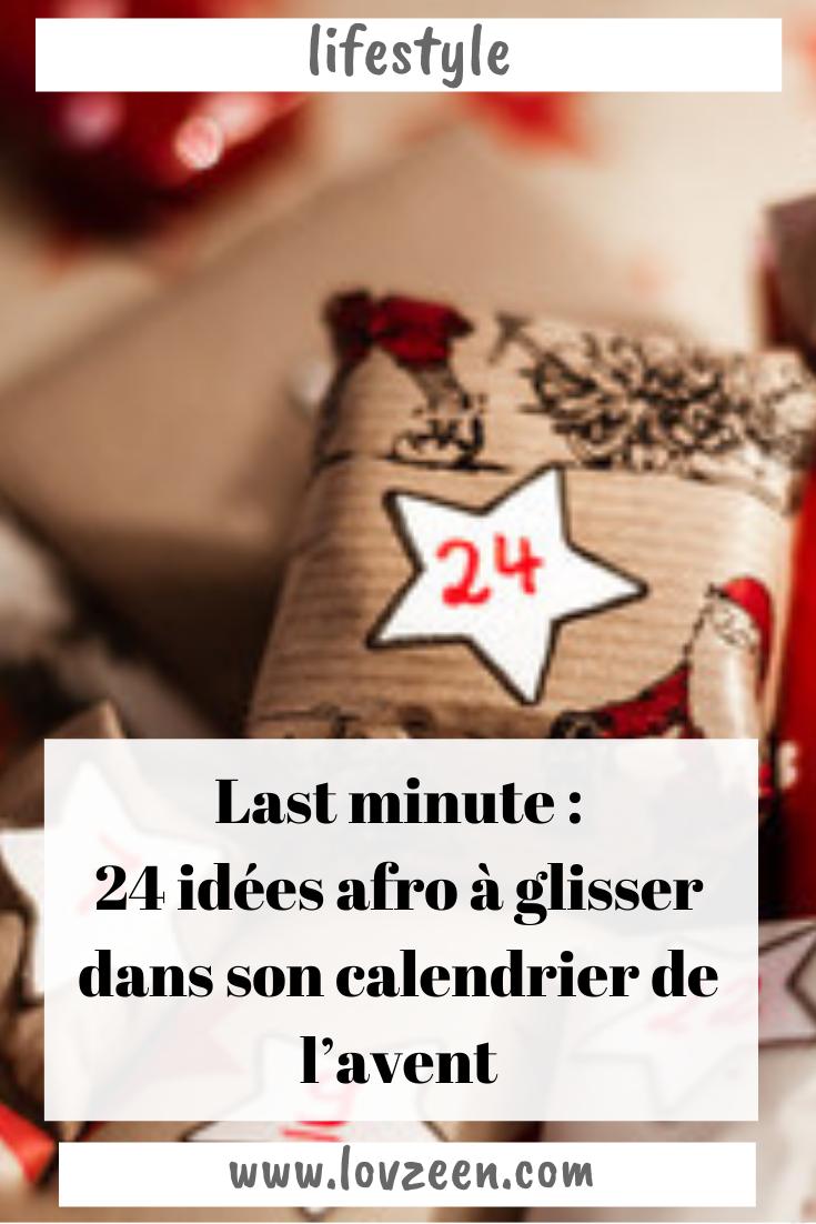 24 idées afro à glisser dans son calendrier de l'avent
